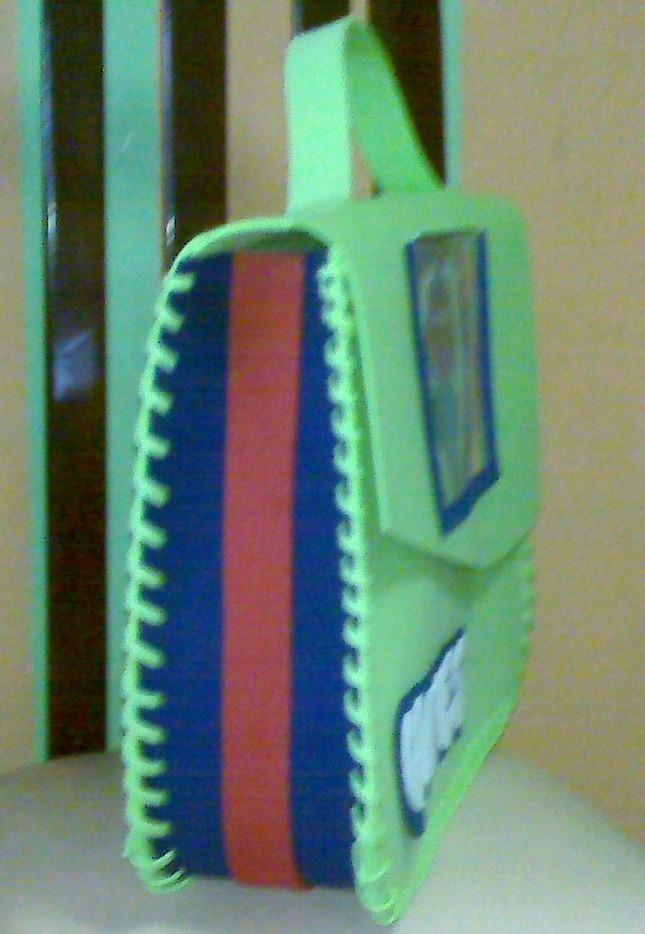 Portafolios En Foami. - BsF 550,00 en MercadoLibre