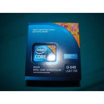 Procesador Intel I3 3.06 Ghz 540 Lga 1156 4mb Cache 73w