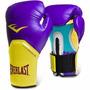 Guantes De Boxeo Everlast 1200359 12oz Morado Y Amarillo