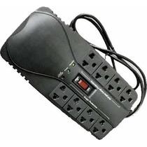 Regulador De Voltaje Emerald 8 Tomas Computador, Tv, Audio.