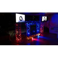Sonido Discplay Miniteca Karaoke Dj Vj Alquiler Musica Truss