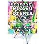 Pendones Banner 60x90 Incluye Tubos Oferta! Tienda Fisica