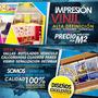 Vinil Autoadhesivo Impresión Publicidad, Vallas, Mismo Dia