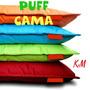 Puff Tipo Cama Multi Formas Playero Impermeable Sin Relleno.