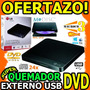 Wow Quemador De Dvd Externo Lg Gp50 8x Dl Slim Portatil Usb