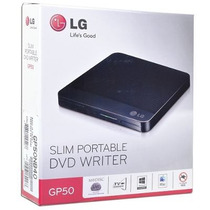 Quemador Externo Ultradelgado Cd/dvd Lg Slim Gp50