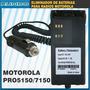 Eliminador De Bateria Para Radio Motorola Pro5150 7150 5550