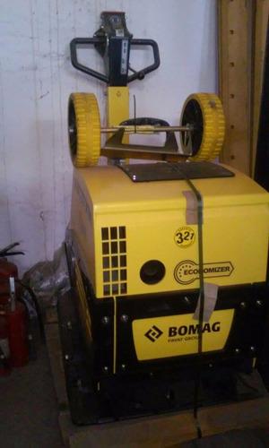 Rana Compactadora 595kg Reversible Bomag Bpr 70/70 D Nueva