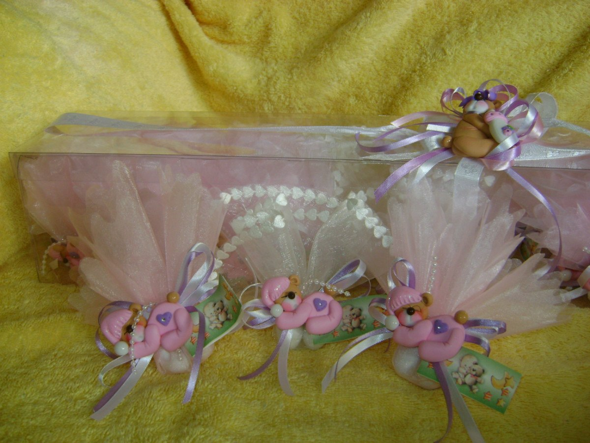 Recuerditos De Masa Flexible Para Baby Shower Y Nacimiento - BsF ...