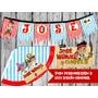 Kit De Fiesta Imprimible Jake Y Los Piratas Personalizado