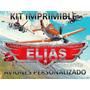 Kit De Fiesta Imprimible Aviones Personalizado