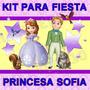 Kit Imprimible Princesa Sofia De Disney Diseñá Tarjetas