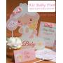 Kit Imprimible Baby Shower Angelito Niña O Niño 2x1