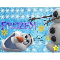 Kit Imprimible Frozen Invitaciones Cotillon