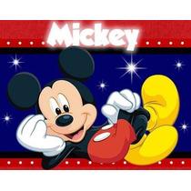 Kit Imprimible Mickey Mouse Diseñá Tarjetas , Cumples Y Mas