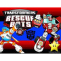 Kit Imprimible Transformers Rescue Bots Cotillon Fiesta
