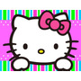 Kit Imprimible Hello Kitty Candy Bar Tarjetas Y Mas