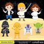 Kit Imprimible Star Wars 2 Imagenes Clipart