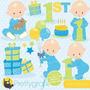 Kit Imprimible Baby Shower Nene 2 Imagenes Clipart
