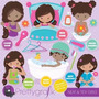 Kit Imprimible Aseo Personal 2 Imagenes Clipart