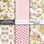 Kit Imprimible Pack Fondos Shabby Chic 79 Clipart