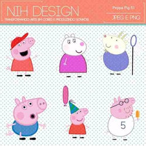 Kit Imprimible Pack Fondos Peppa Pig 11 Clipart