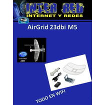 Ubiquiti Airgrid 23dbi M5 Enlace