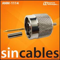 Hyperlink Conector N-macho Crimp Para Lmr-316 Coax Anm-1114