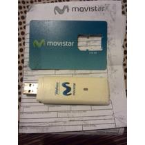 Modem Bam Movistar 3g Huawei Con Linea Y Plan De 2.7 Gb