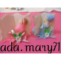 Lindos Recuerditos Masa Flexible Baby Shower O Nacimiento