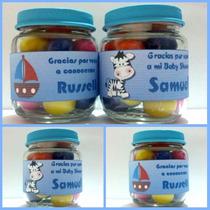 Hermosas Compotas De Caramelos Para Baby Shower O Nacimiento