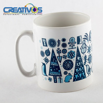 Tazas Personalizadas - Sublimacion - Ceramica - Full Color