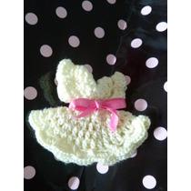 Recuerditos Para Baby Shower Nacimiento Tejido Al Crochet