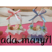 Lindos Recuerditos Masa Flexible Baby Shower Y Nacimientos