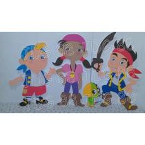 Figuras En Foami ( Jake El Pirata Del Pais Del Nunca Jamas)
