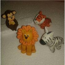 Figuras De Animales De La Selva. Cumpleaños