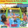 Juego Cancha De Futbol Inflable + Pelota Intex 56507 58507