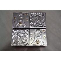 Recuerdos Bautizos Comuniones Cajas Repujado En Aluminio