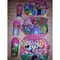 Termo Antiderrame Princesa Sofia Frozen Mickey Minnie Jake