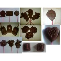 Chupetas Y Bombones De Chocolate