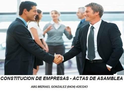 Registro Empresa, Contratos Compraventa, Traspasos Asesorias