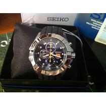 Reloj Seiko Barcelona Fc Cronografo Modelo Sndd81