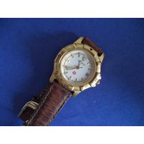 Reloj Michele Dama Dorado Original Para Reparar Comand Nav14