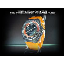 Relojes De Colores Unisex Exclusivos Y Elegantes