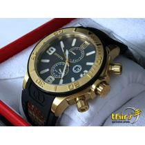 Reloj Invicta Jason Taylor Edicion Espesial Gold 18kl M Perl