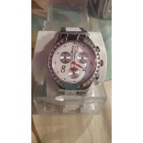 Reloj Swatch Blanco Con Silcones