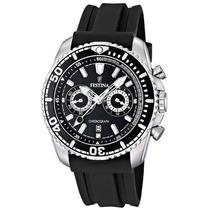 Reloj Festina 100% Original Importado, Negro. Mulco Armani
