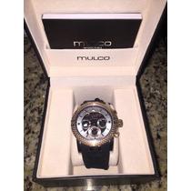 Reloj Mulco Modelo Mw3-11169-013 100% Original Color Negro!!