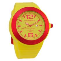 Reloj Chronosport New Happy Amarillo/ Fucsia Tienda Oficial