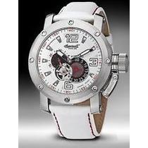 Reloj Invicta Y Ingersoll Bison 26 Automático White Leather